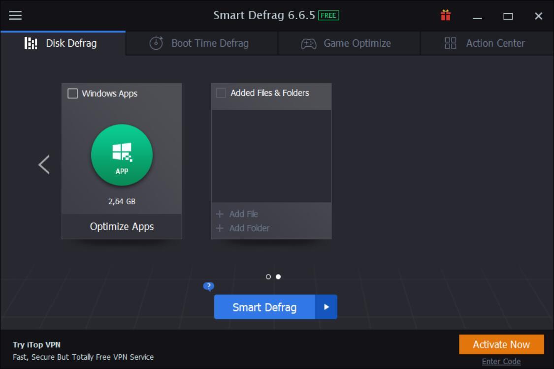 Click to view Smart Defrag 3.0 screenshot