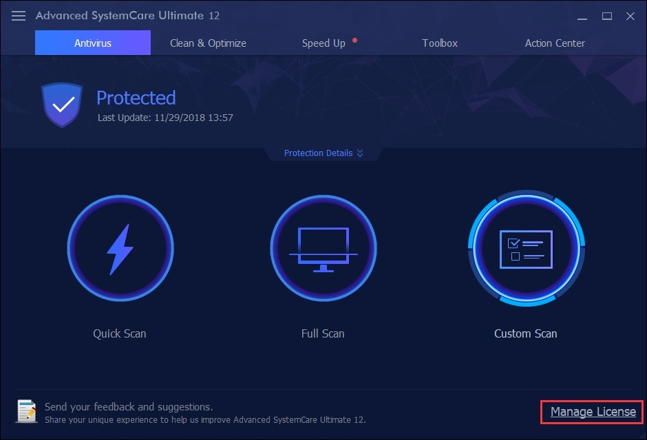 Advanced SystemCare Ultimate 12 User Manual