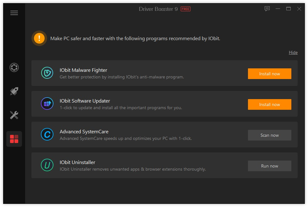 advanced systemcare driver booster 2