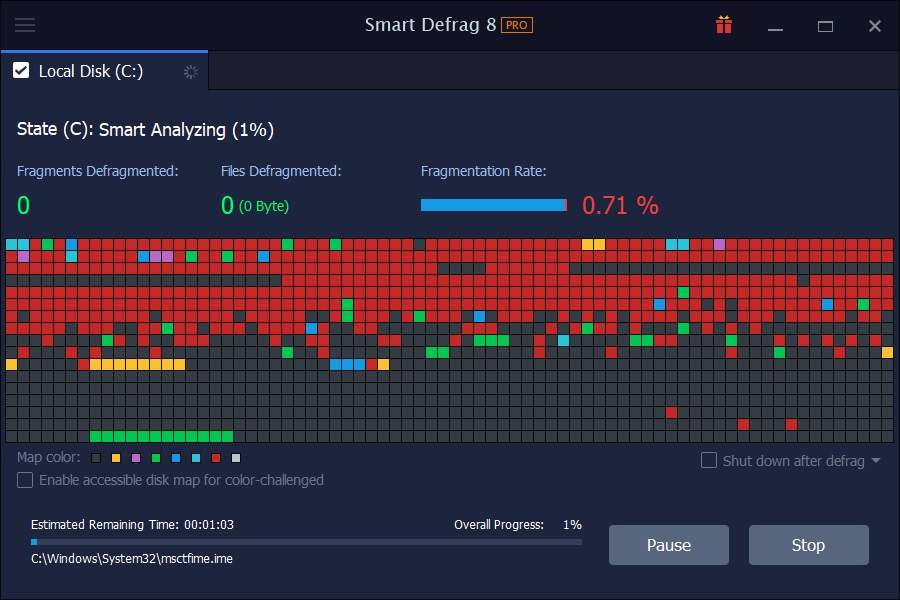 best windows 10 defrag program