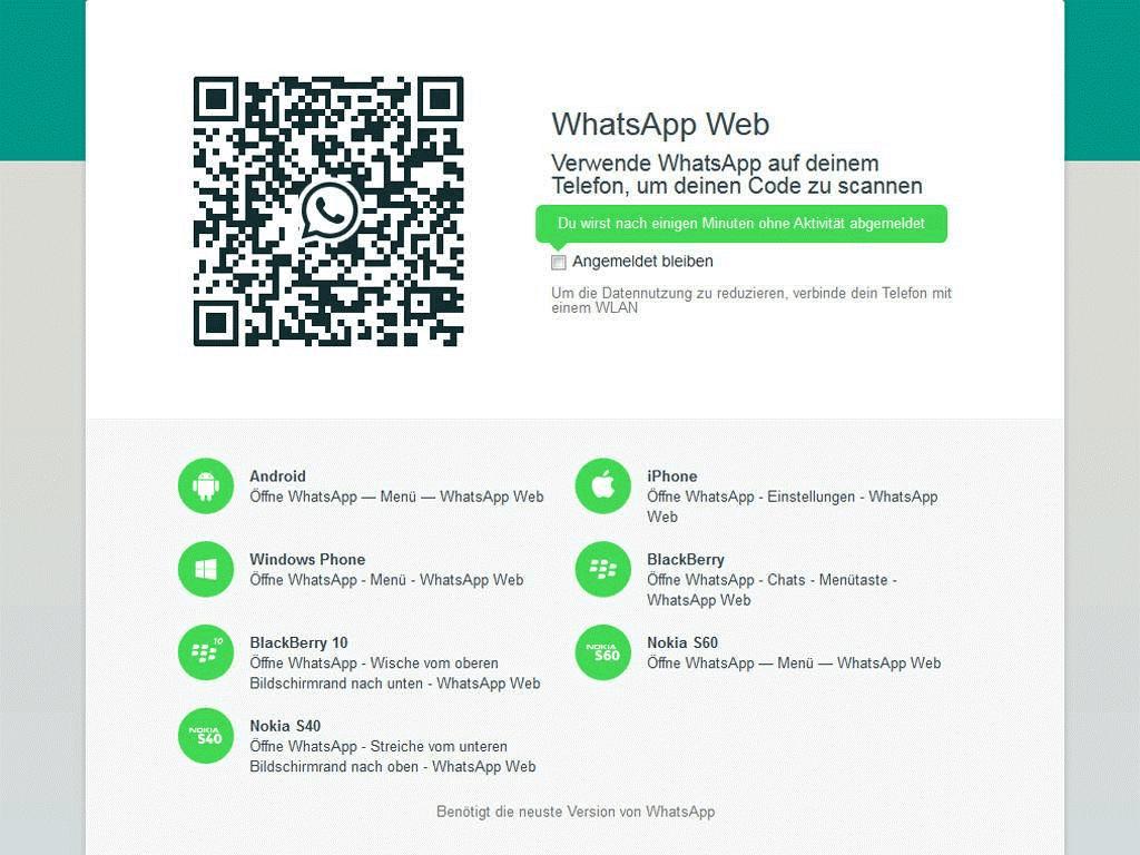 Installsieren Sie WhatsApp auf dem PC