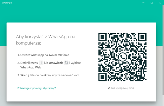 zainstaluj whatsApp na komputerze
