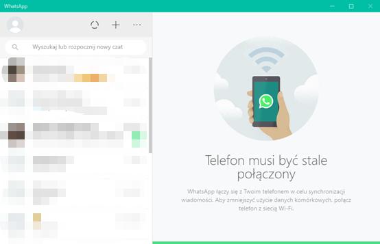 Zeskanuj kod QR i użyj WhatsApp na komputer