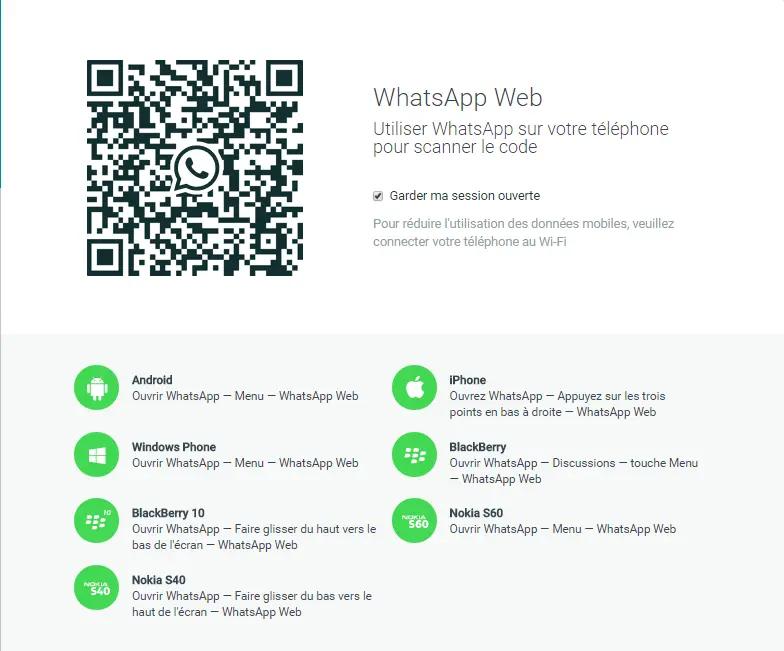 installer WhatsApp sur PC