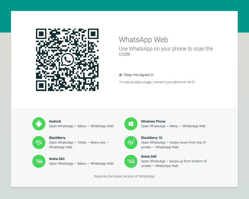 Installera WhatsApp på PC