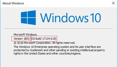 знать версию Windows 10 на вашем компьютере